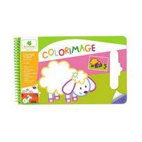 Sycomore - Colorimage Pad Coloriages paillettes ferme