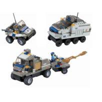 TopaZ - 20259 - Jeu De Construction - Set De 3 VÉHICULES Militaires - 451 PiÈCES