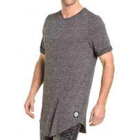 Sixth June - Tee-shirt homme gris chiné oversize