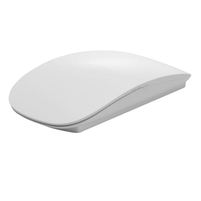 Wewoo Souris Sans Fil Blanc Pour Ordinateur Portable De Bureau Mac