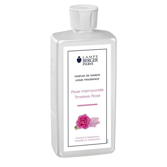 Lampe Berger - Parfum maison rose intemporelle
