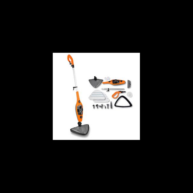 siesta design super balai vapeur multi 10 en 1 nettoyeur steam orange achat nettoyeur vapeur. Black Bedroom Furniture Sets. Home Design Ideas