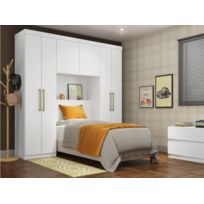 armoire pont de lit achat armoire pont de lit pas cher. Black Bedroom Furniture Sets. Home Design Ideas