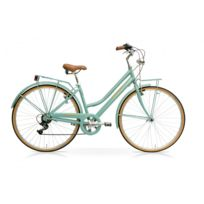 Taurus Cicli - Taurus City Touring Vélo 21 Vitesses Shimano Vintage Femme
