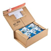 - Boite postale carton 30,5 x 21,2 x 11 cm - Lot de 10