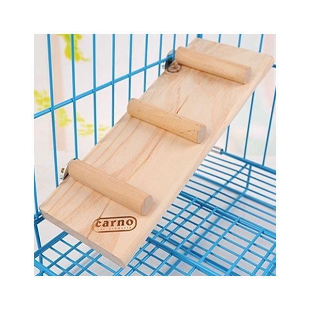 Wewoo Jouet pour Animaux le petit bois d'animal familier joue les jouets d'escalier d'échelle de glissière de hamster Animal d