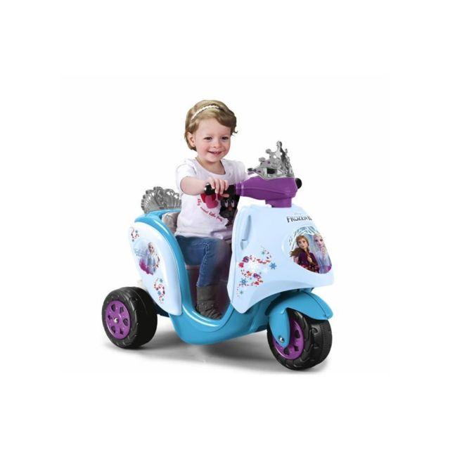 Feber 800012446 - Scooty Frozen 2 La reine des neiges 2 - scooter électrique