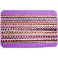 Universol - Tapis salon Tresse coloré violet