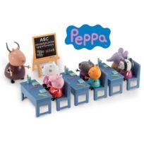 Giochi Preziosi - Peppa - Salle de classe avec 7 personnages