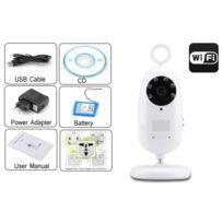 High-Tech Place - BabyPhone Wi-Fi 1/3 / 720p / H.264 / Vision de nuit