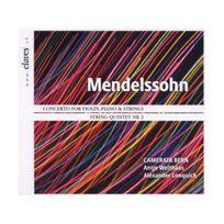 Claves - Mendelssohn : Concerto pour violon et piano. Weithaas, Lonquich