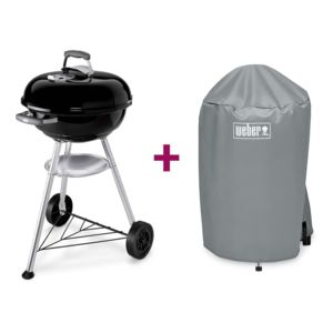 weber barbecue compact kettle 47 cm housse pas cher. Black Bedroom Furniture Sets. Home Design Ideas