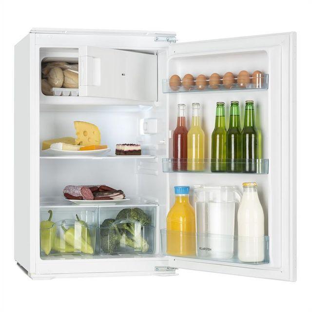 KLARSTEIN - Coolzone 120 Réfrigérateur encastrable 105l + freezer 15l classe A
