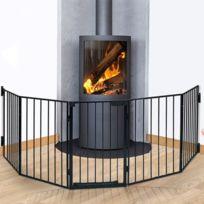 Pare feu cheminee achat pare feu cheminee pas cher rue - Barriere securite cheminee ...