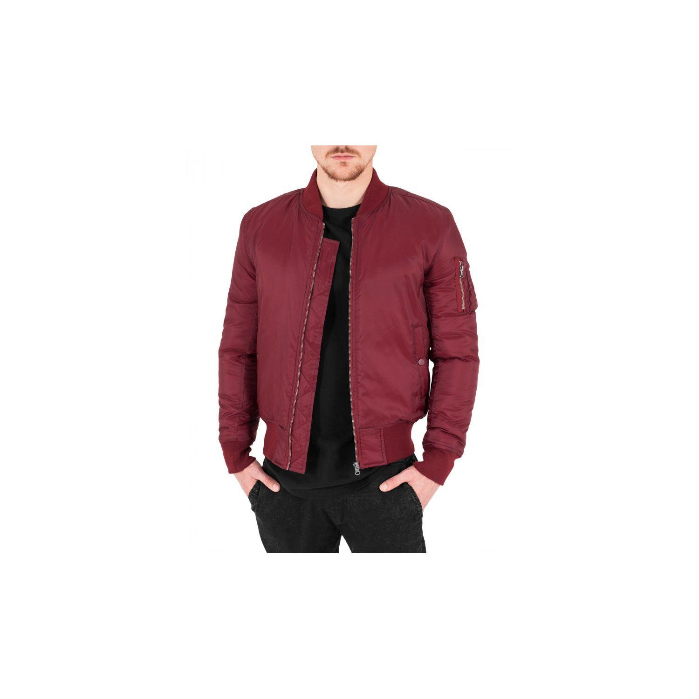 BESTSTYLE- Blouson bomber homme rouge aviateur fashion 6b1c8c608d2e