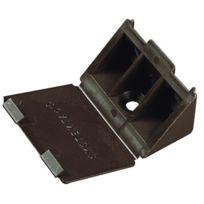 Prunier - Taquet Plastique Systemtac Plastique - Large - Finition:Marron - Cond