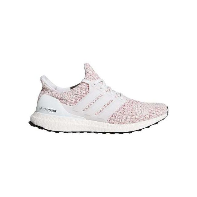 Adidas - Chaussures Ultra Boost rouge clair blanc