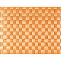 Saleen - Set De Table Tissé 40x30 Cm - Orange