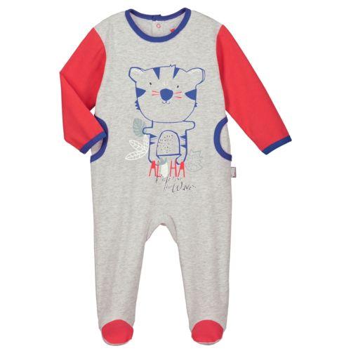 Petit Beguin - Pyjama bébé Kahoni - Couleur - Gris 009bf5487cd