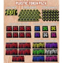 Esdevium - Zombicide Plastique Token Pack - Accessoires