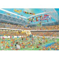 Jumbo - Jan Van Haasteren Football Crazy 1000 Piece Jigsaw Puzzle