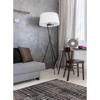 ESPRIT - Tapis VELVET GRID Tapis Moderne par marron 80 x 150 cm