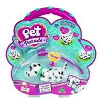 Pet Parade - 1756 - Figurine Animal - 1 Pet + Os + Laisse - Dalmatian