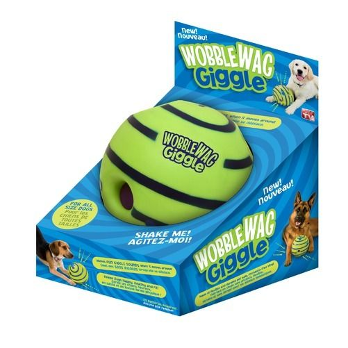 Best Of Tv Wobble Wag Giggle La balle sonore pour Chien