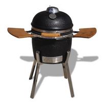 Rocambolesk - Superbe Barbecue à charbon Kamado Céramique 81 cm neuf