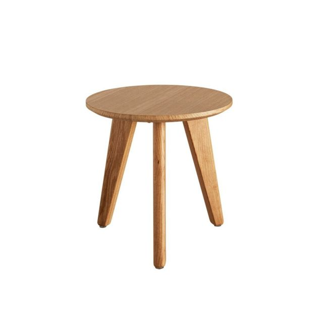 Inside 75 Table Basse Design Nordic Taille S Coloris Chene Clair