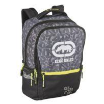 Ecko - Sac à dos noir et gris - 2 Compartiments - L 32cm