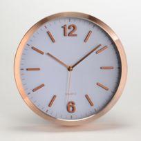 Amadeus - Horloge moderne en aluminium D.30cm Cold