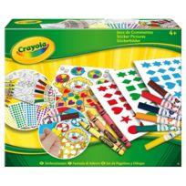 VIVID - Crayola - Jeux de gommettes - A1601429