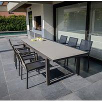 Table salon jardin alu extensible - Bientôt les Soldes Table salon ...