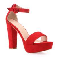 ce440f4d9dc Chaussure à talon rouge - Achat Chaussure à talon rouge pas cher ...