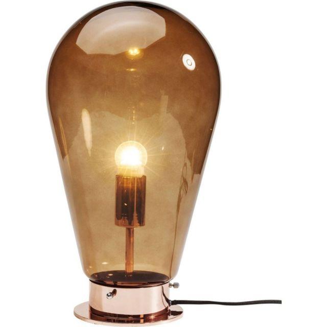 Karedesign Lampe De Table Bulb Cuivre Kare Design Pas Cher Achat