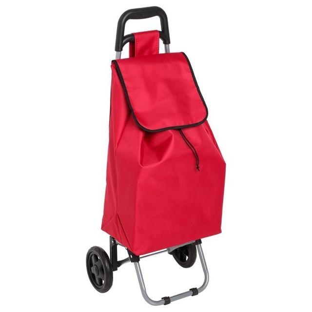 Paris Prix Chariot de Marché Design 30L Rouge