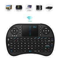 Flexymove - Mini Clavier français Azerty Sans-fil avec Touchpad et pavé directionnel 2.4GHz Compatible Mxq Pro Xbox 360 Box Tv