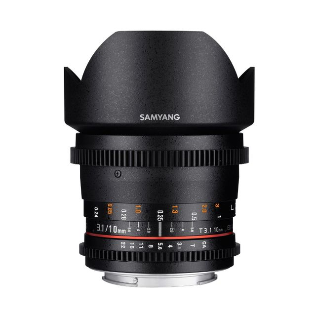 SAMYANG 10mm T3.1 ED AS NCS CS II - monture Nikon