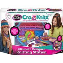 Cra-Z-Art - Cra-z-knitz - Ultimate Designer Knitting Station - Atelier De Tricot