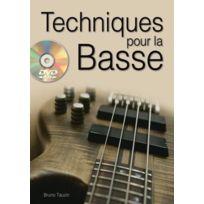 Play Music Publishing - Méthodes Et Pédagogie Tauzin B Techniques Pour La Basse + Dvd Guitare Basse