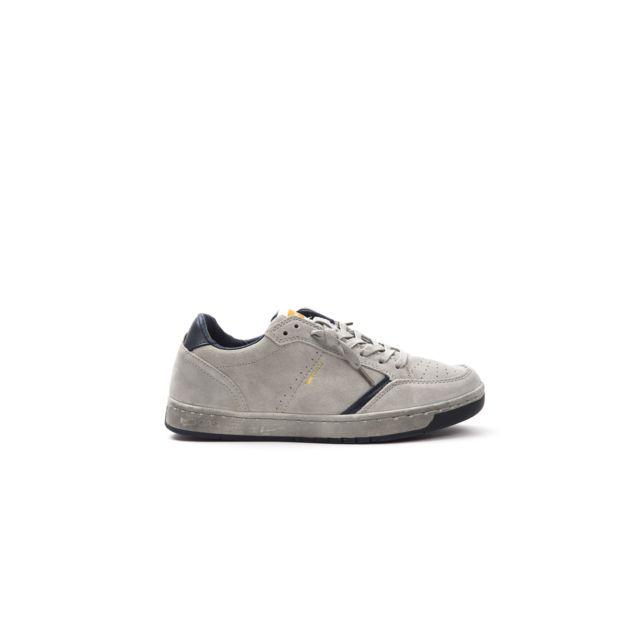 Gas Sneakers homme Gam818021 Gris pas cher Achat Vente