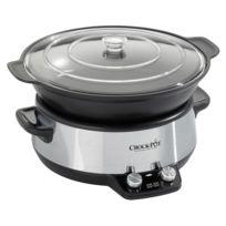Crock-Pot - Mijoteuse sauteuse électrique 6 litres programmable