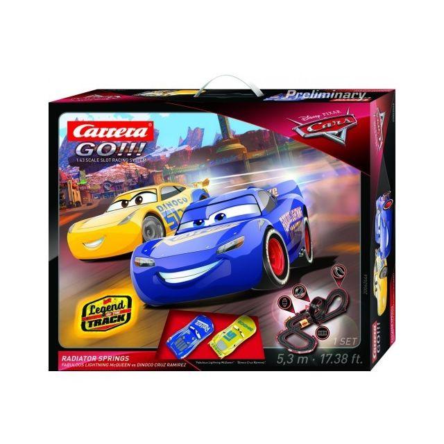 Carrera Circuit voiture 6 ans Go!!! 62446 Circuit Cars - Radiator Springs 1/43