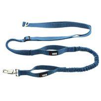 I-dog - Laisse de Traction CaniCross Réglable Bleu