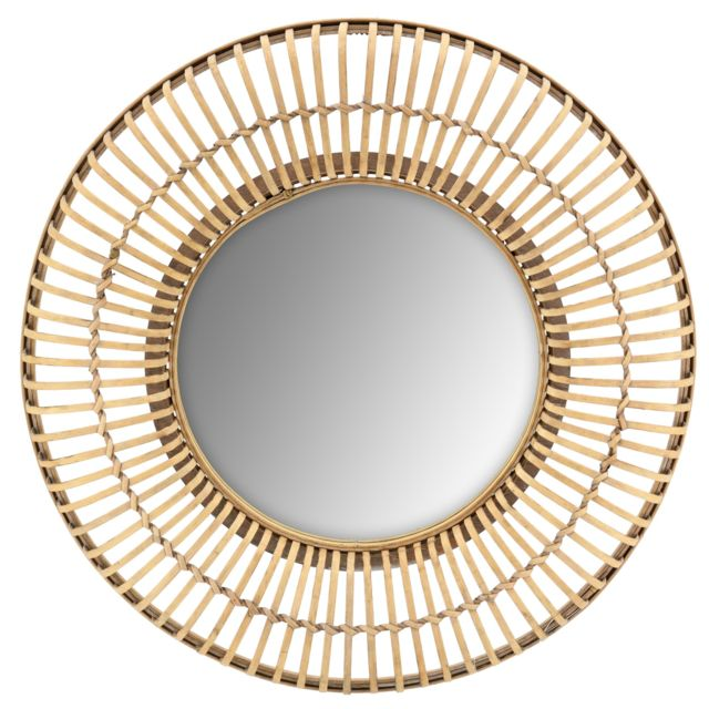 AUBRY GASPARD Miroir en bois 70 cm