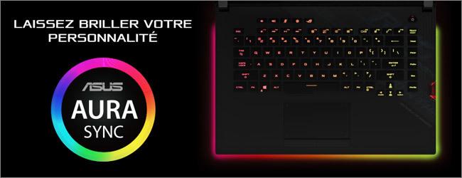 ASUS - Clavier gaming rétroéclairé