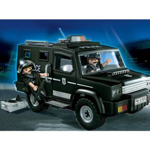 playmobil 5974 forces sp ciales de police et fourgon pas cher achat vente playmobil. Black Bedroom Furniture Sets. Home Design Ideas