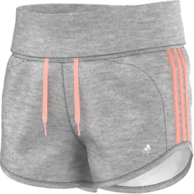Adidas performance - Short Short Fillette Adidas - pas cher Achat ... dcb0978dad0