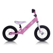 """Rebel Kidz - Vélo d'apprentissage 12,5"""" en acier Papillon rose"""